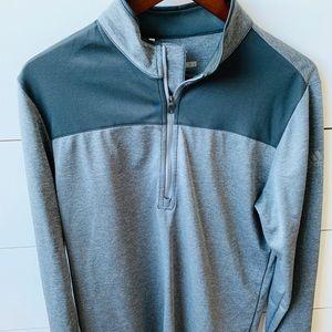 Men's Adidas Golf Half Zip Pullover Sz M